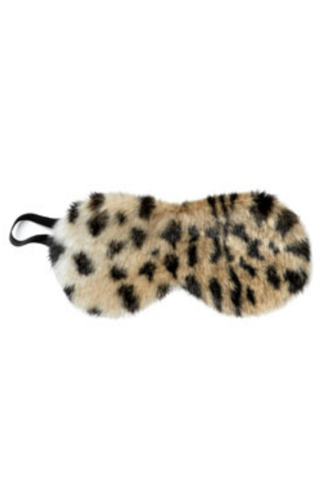 Donna Salyers Faux Fur Eye Mask - Front Cropped Image