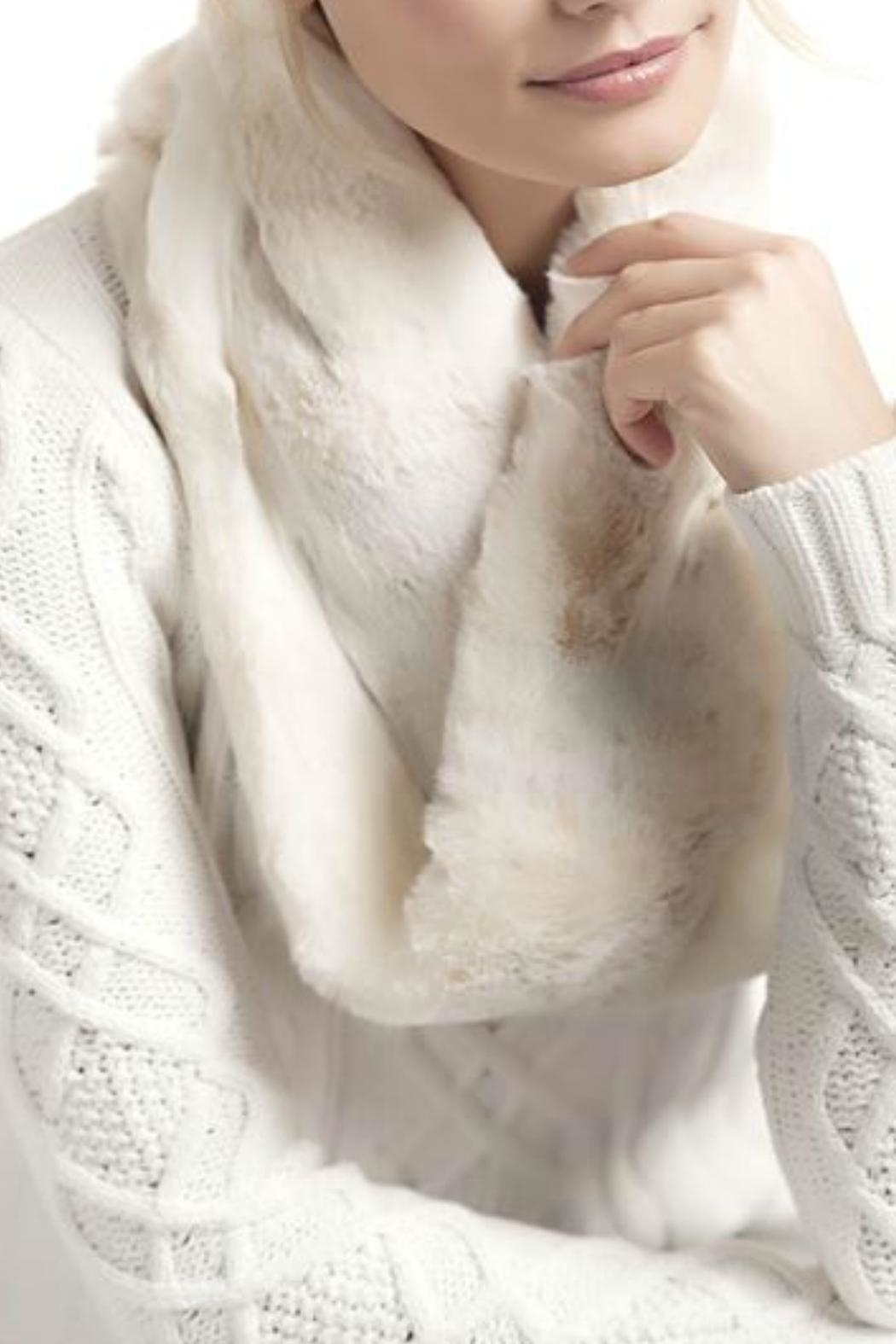 Donna Salyers Iced Mink Scarf - Front Full Image