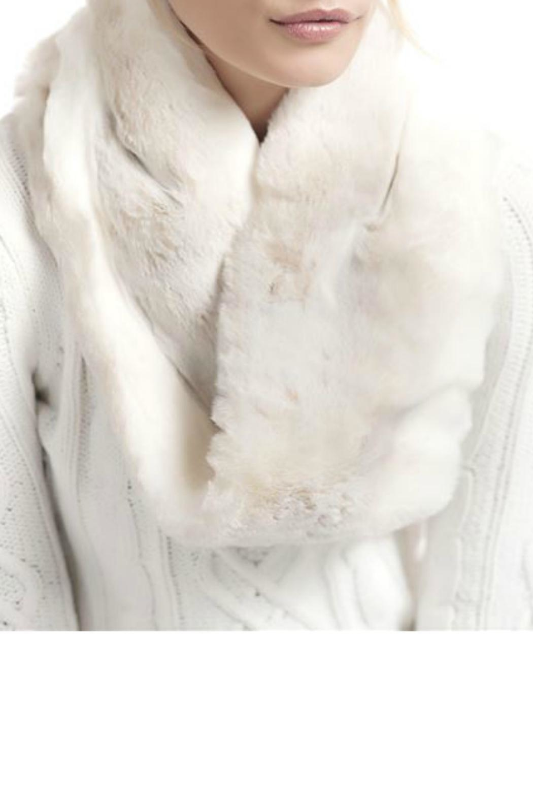 Donna Salyers Iced Mink Scarf - Side Cropped Image