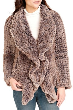 Donna Salyers Knitted Fur Jacket - Product List Image