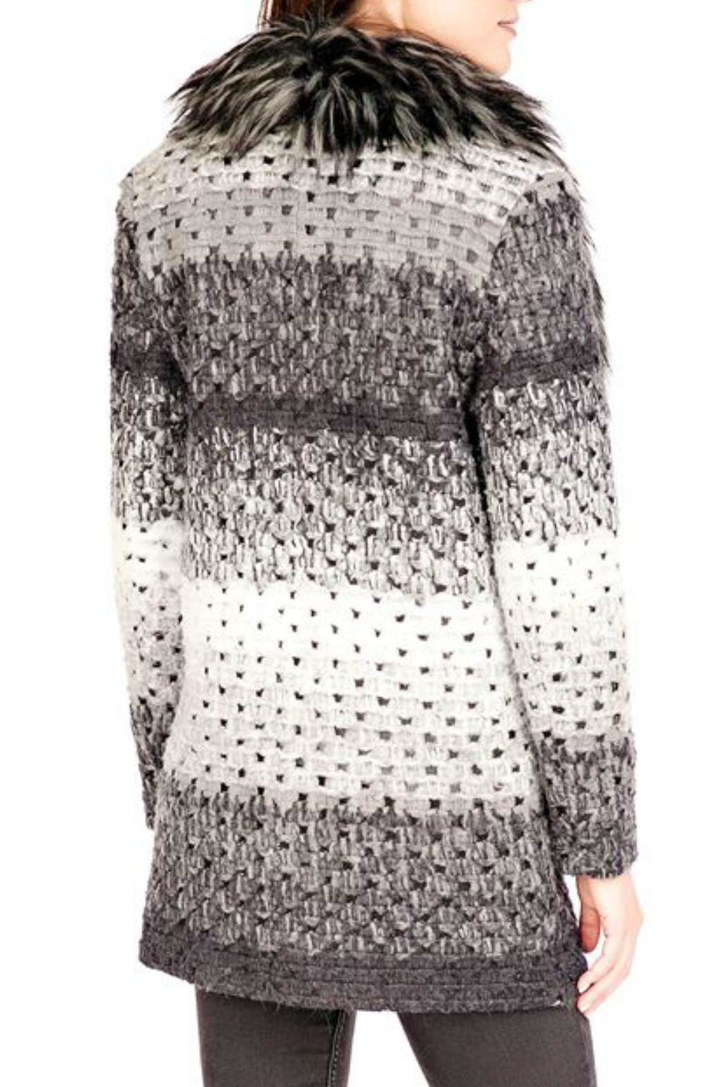 Donna Salyers Marble Knit Sweater - Front Full Image