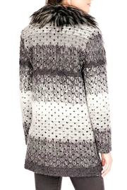 Donna Salyers Marble Knit Sweater - Front full body
