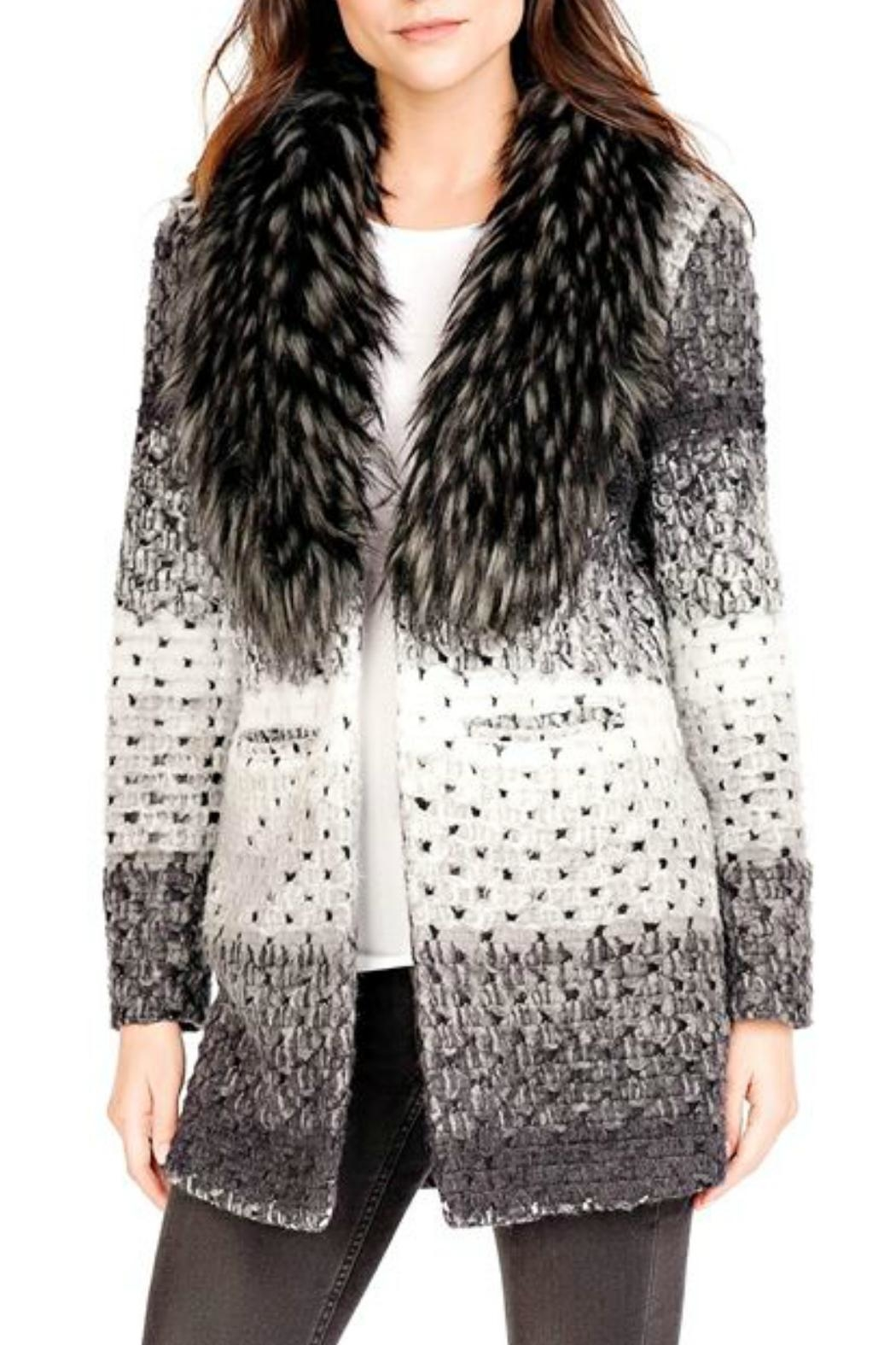 Donna Salyers Marble Knit Sweater - Main Image