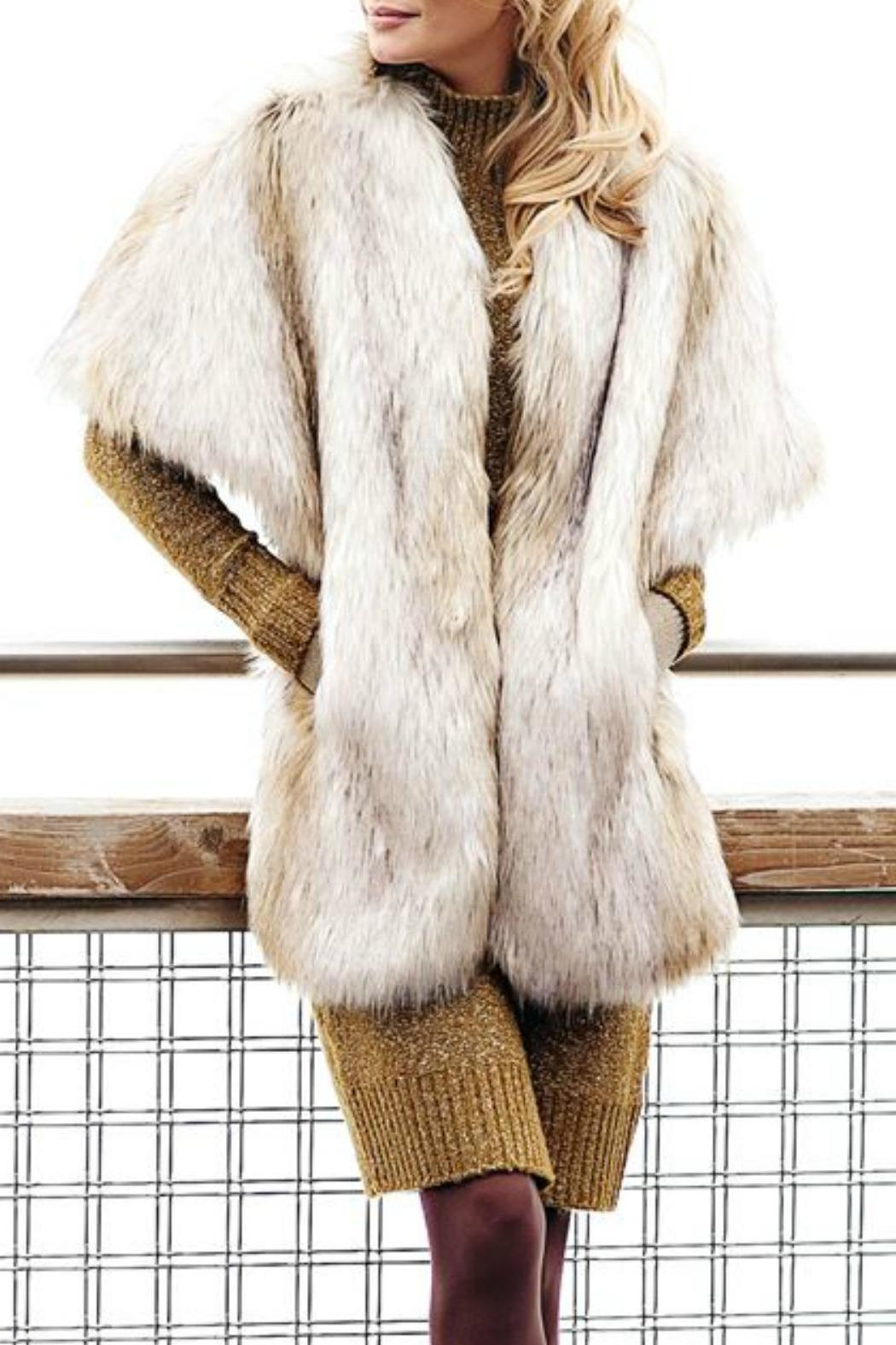 Donna Salyers Russian Wolf Shrug - Side Cropped Image