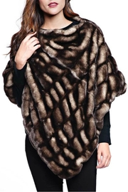 Donna Salyers Shadow Mink Poncho - Product Mini Image
