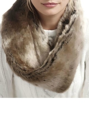 Donna Salyers Timber Wolf Scarf - Front cropped