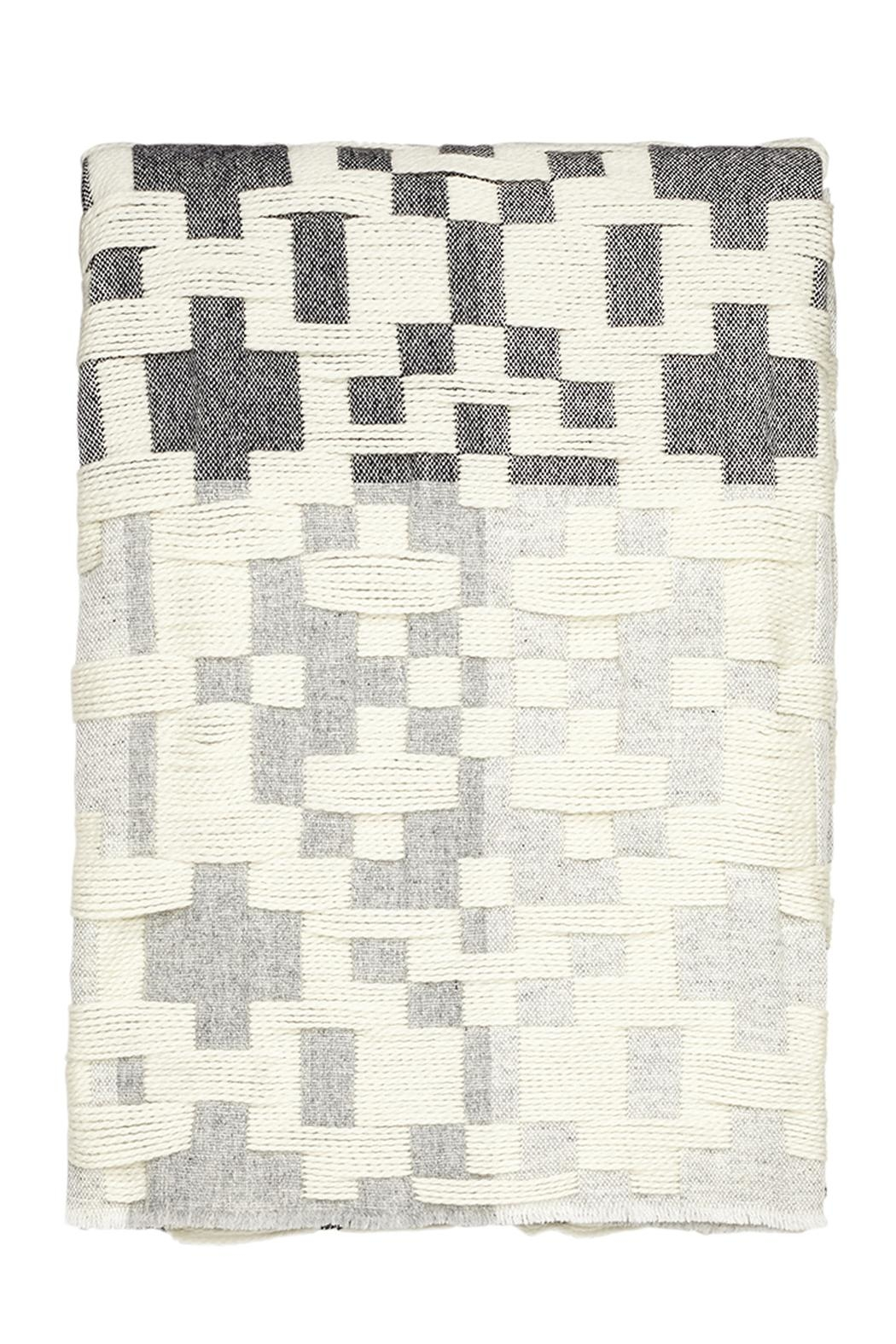 Donna Wilson Donna-Wilson Lambswool Throw - Front Full Image