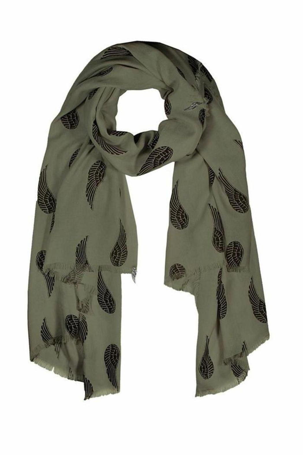Donni Charm Fly Scarf - Front Cropped Image