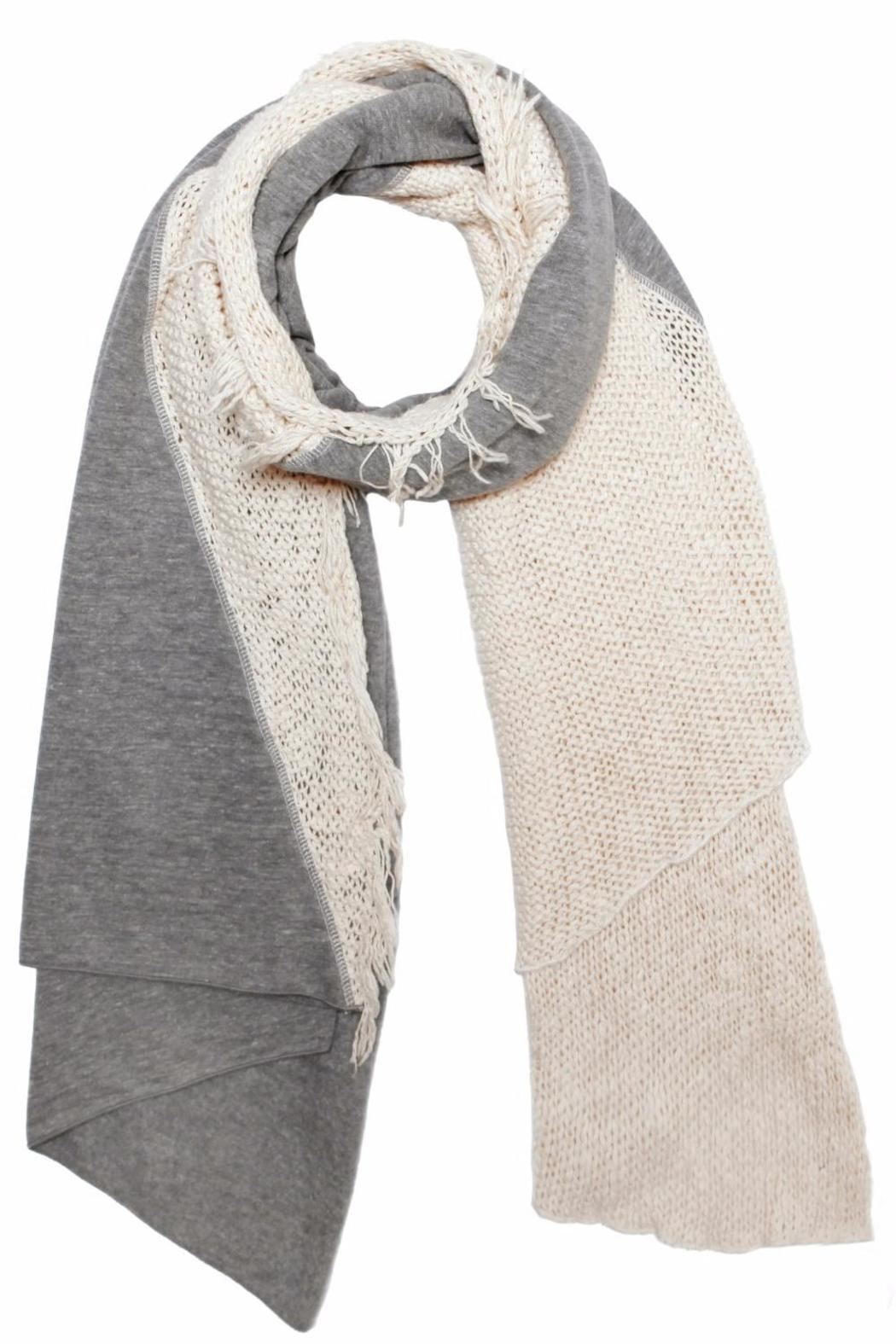 Donni Charm Knit Diagonal Scarf From New York City By Lexie Shoptiques