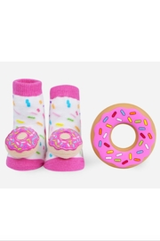 Waddle Donut Teether Set - Front full body