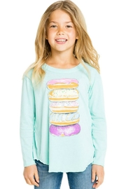 Chaser Donut Tower Tee - Front full body