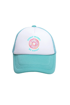 Tiny Trucker  Donut Worry Be Happy Trucker Hat - Product List Image