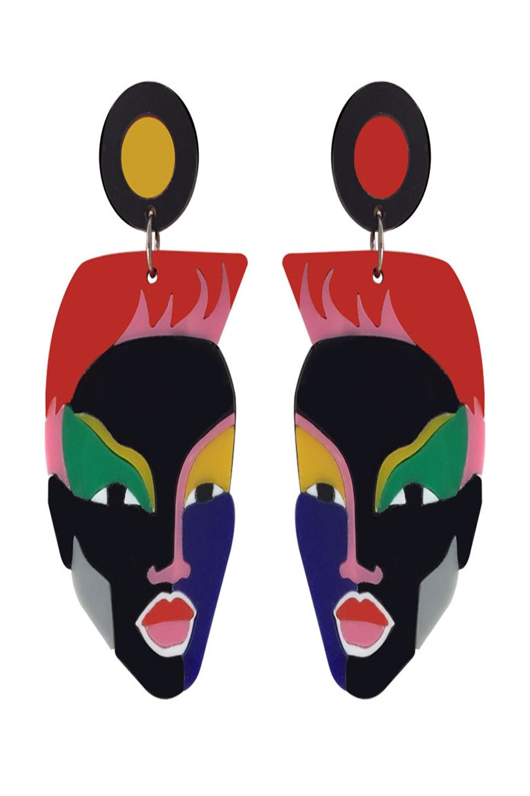 Doodad and Fandango Jamaican Girl Earrings - Main Image