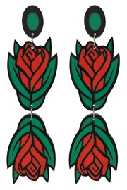 Doodad and Fandango Lady Garden Earrings - Product Mini Image