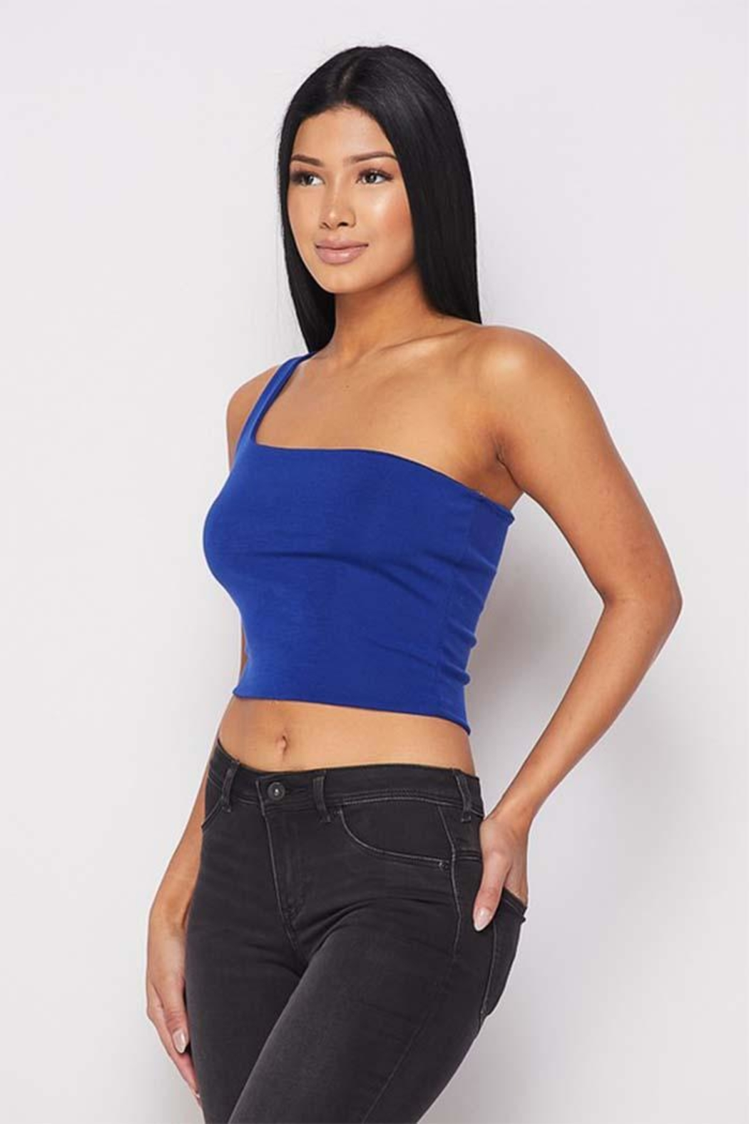 Dor L' Dor One Shoulder Top - Front Full Image