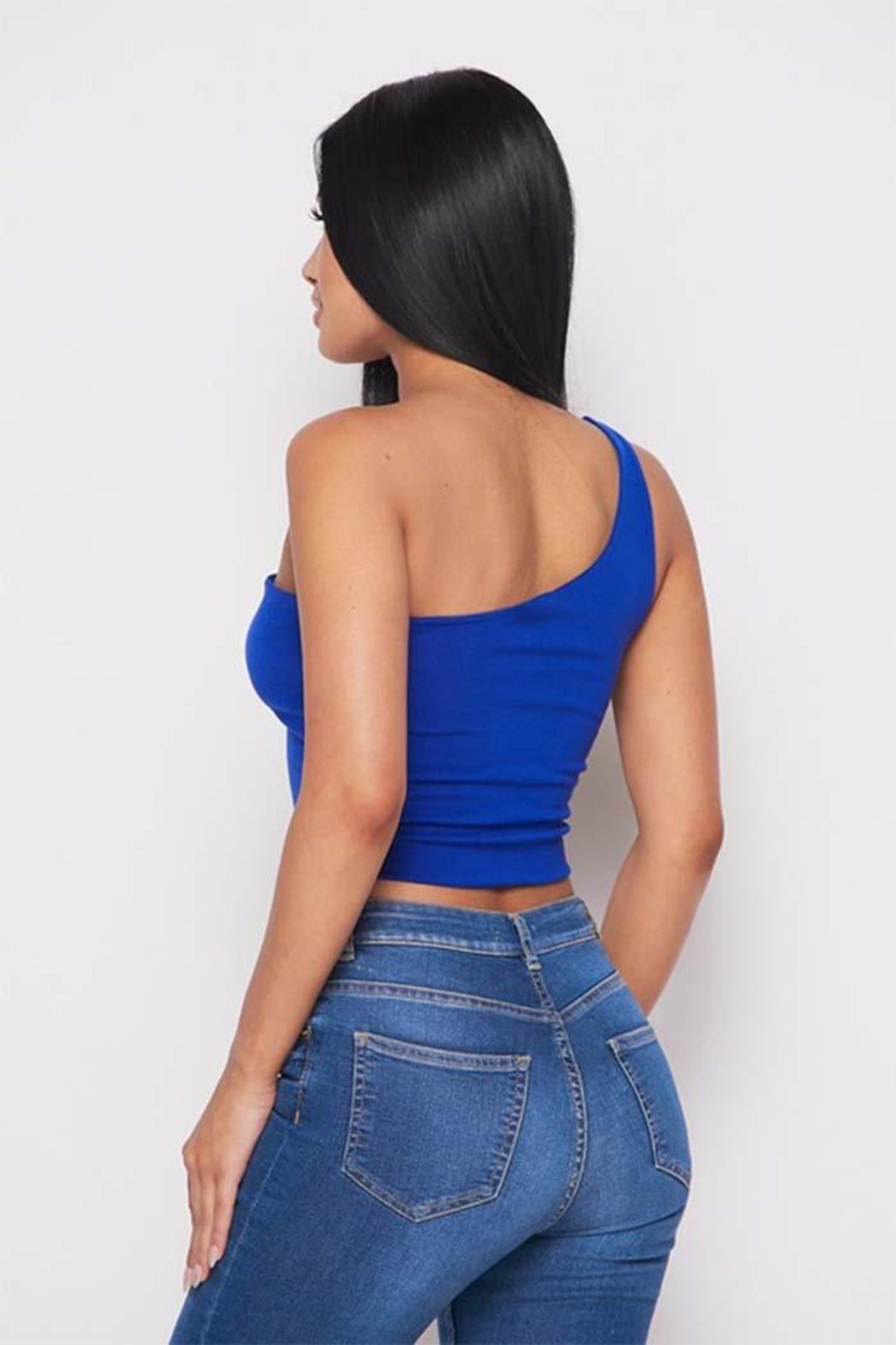Dor L' Dor One Shoulder Top - Side Cropped Image