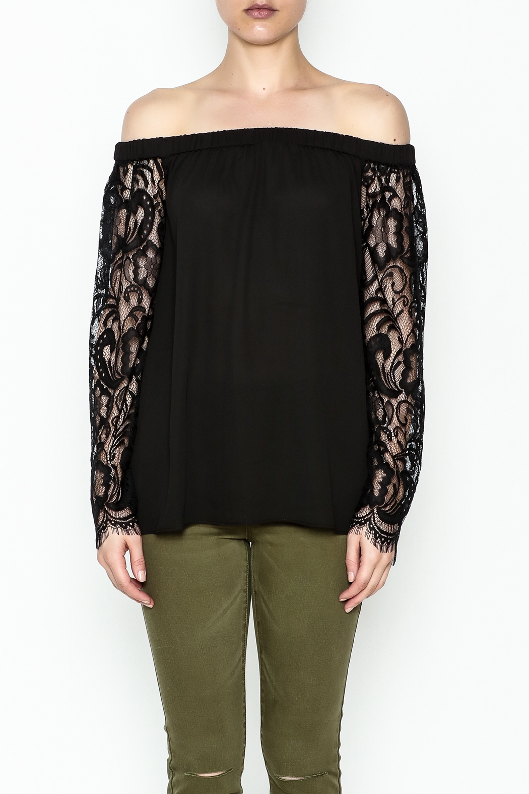 Dora Landa Lesley Off Shoulder Top - Front Full Image