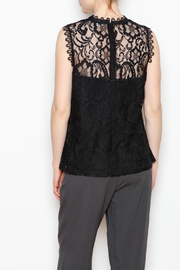 Dora Landa Lynley Lace Top - Back cropped