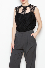 Dora Landa Lynley Lace Top - Product Mini Image