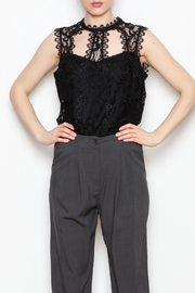Dora Landa Lynley Lace Top - Front full body