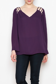 Dora Landa Thea Ladder Blouse - Product Mini Image
