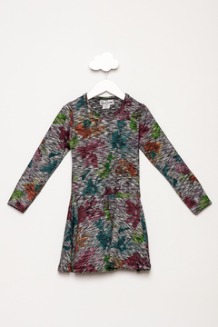 Dori Creations Space Dyed Floral Dress - Product List Image