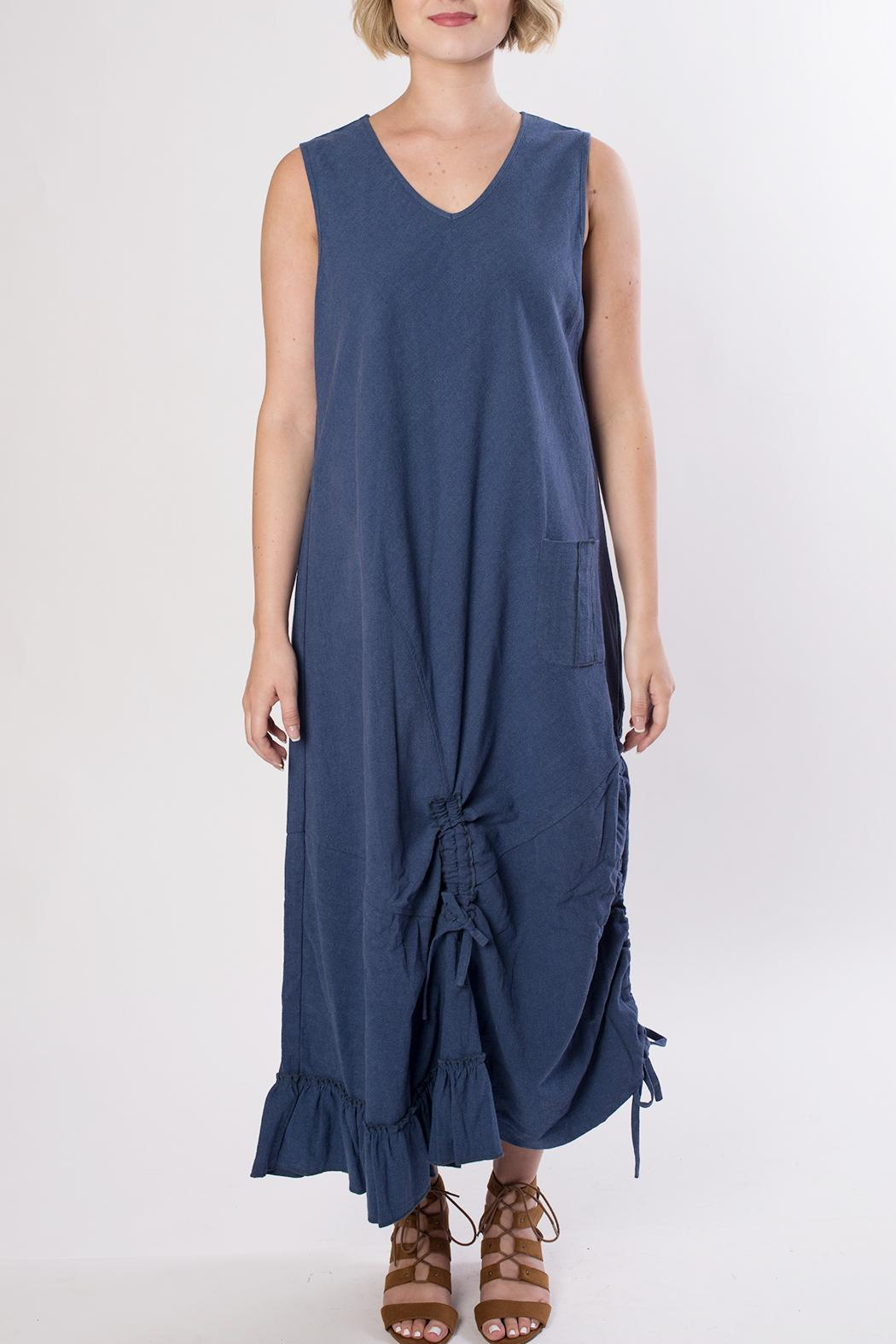 Dorman Blue Midi Dress - Main Image