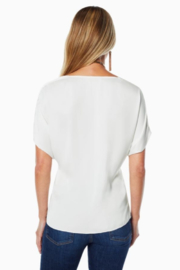Ramy Brook DOROTHY COWL NECK TOP - Front full body