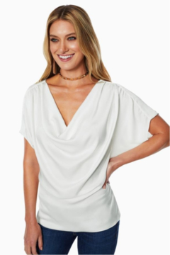 Ramy Brook DOROTHY COWL NECK TOP - Product List Image