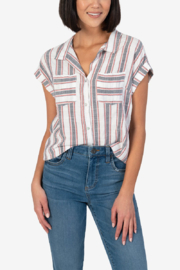 Kut from the Kloth DORRIE BLOUSE - Product Mini Image