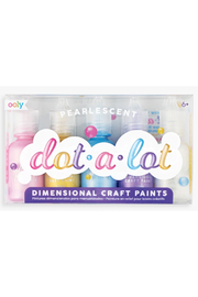Ooly Dot-a-Lot Dot Painting Set - set of 5 Pearlescent - Product Mini Image