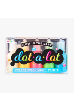 Ooly Dot-A-Lot Glow In The Dark Dimensional Craft Paint - Product List Image