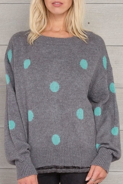 Wooden Ships Dot Crewneck Sweater - Product List Image