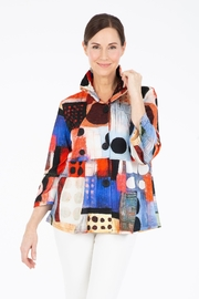 Damee Dot Empire Jacket - Front cropped
