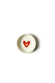 Coton Colors Dot-Heart Dipping Bowl - Front cropped