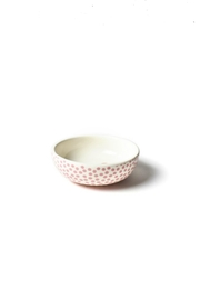 Coton Colors Dot-Heart Dipping Bowl - Front full body