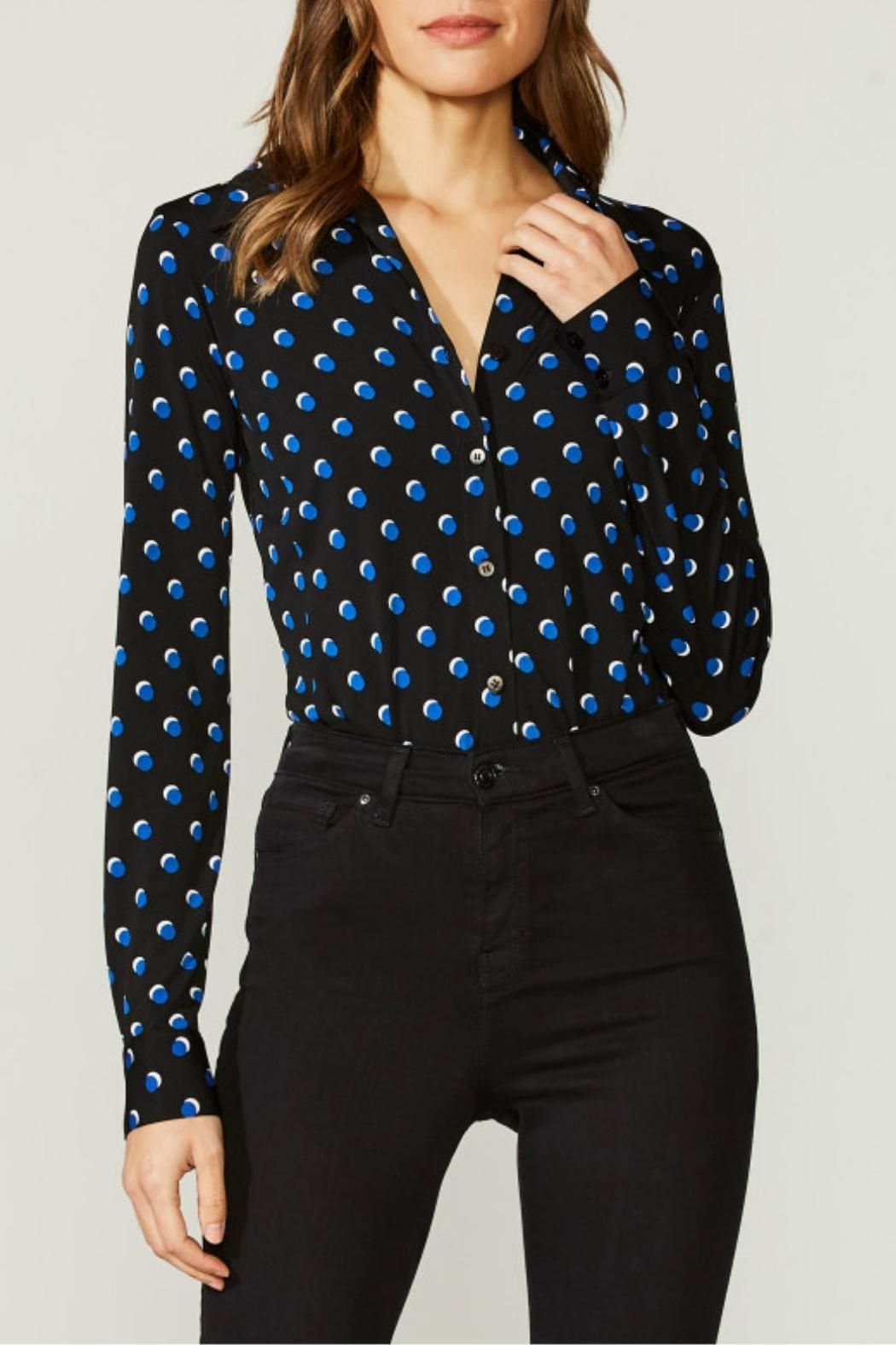 Bailey 44 Dot Print Bodysuit - Main Image