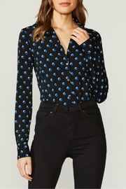 Bailey 44 Dot Print Bodysuit - Front cropped