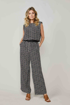 Summum Dot Print Trouser - Alternate List Image