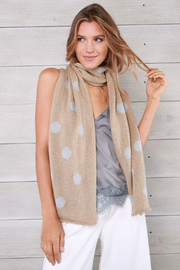 Wooden Ships Dot Scarf - Product Mini Image