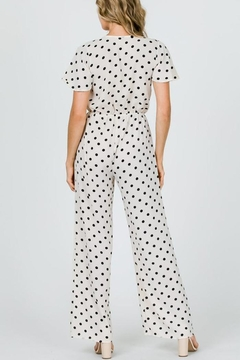 veveret Dot Tie Jumpsuit - Alternate List Image