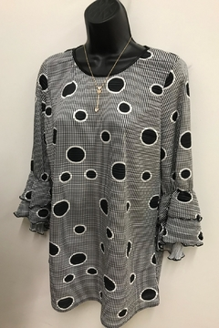 Shoptiques Product: Dot to Dot Blouse