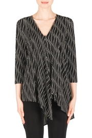 Joseph Ribkoff Dot Tunic Top - Product Mini Image