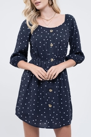 Blu Pepper Dot-Your-Girl Polka-Dot Dress - Product Mini Image