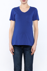 Dote Blue Short Sleeve Tee - Side cropped