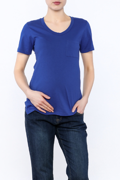 Shoptiques Product: Blue Short Sleeve Tee