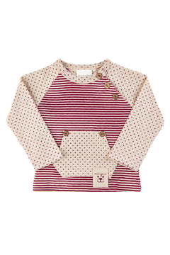 Minymo Dots & Stripes Sweatsuit Outfit - Product List Image