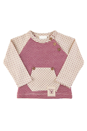 Minymo Dots & Stripes Sweatsuit Outfit - Product Mini Image