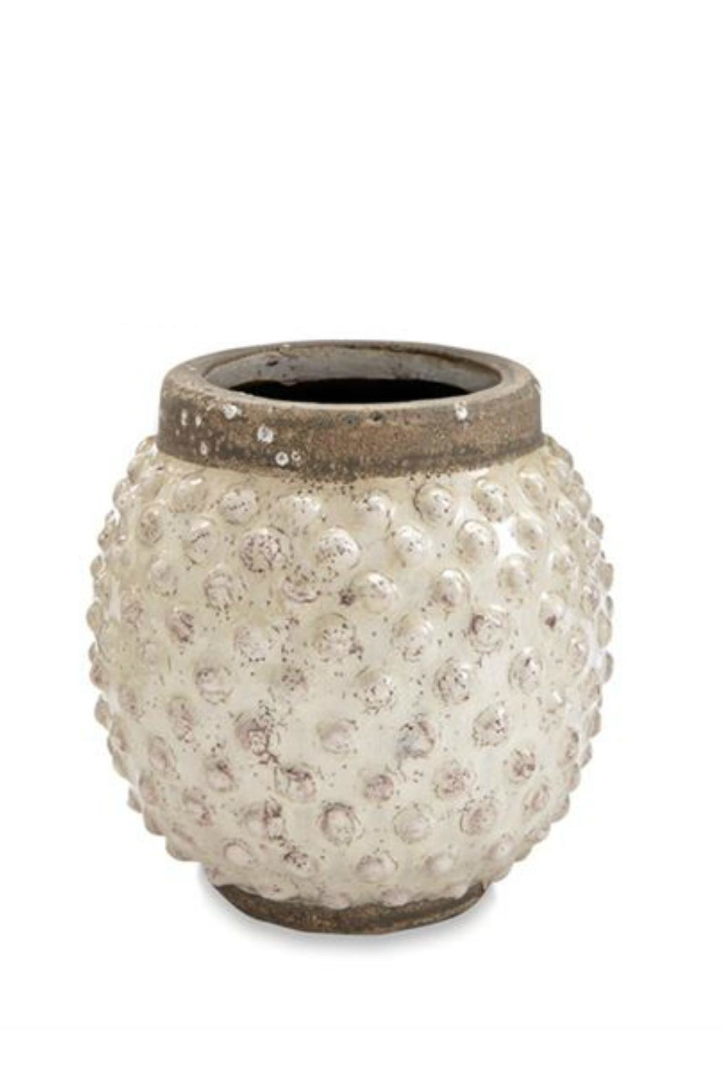 Mud Pie Dotted Planter - Main Image