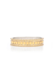 Anna Beck Dotted Stacking-Ring Gold - Product Mini Image